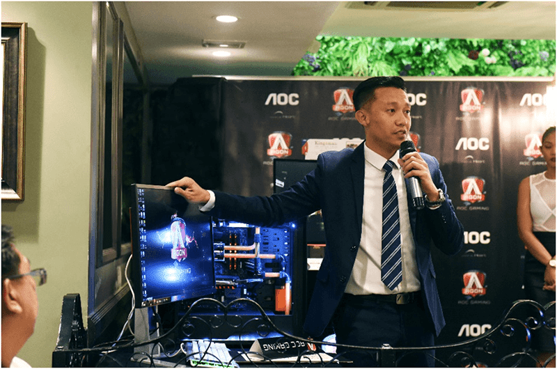 Mr. Jack Salamia introduces the Agon line of monitors