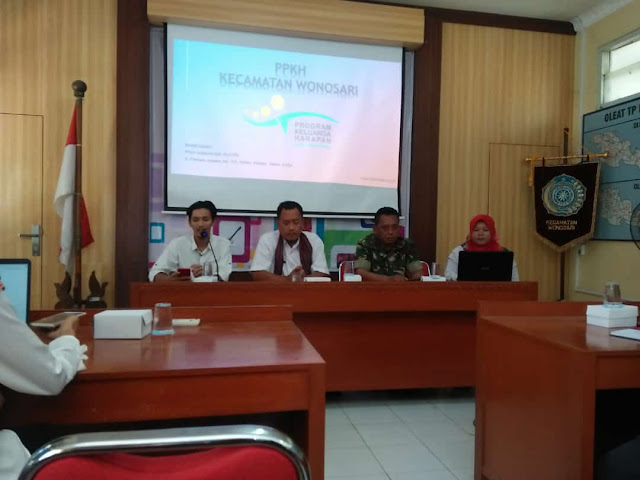 Rapat Koordinasi Penanggulangan Kemiskinan Di Wonosari