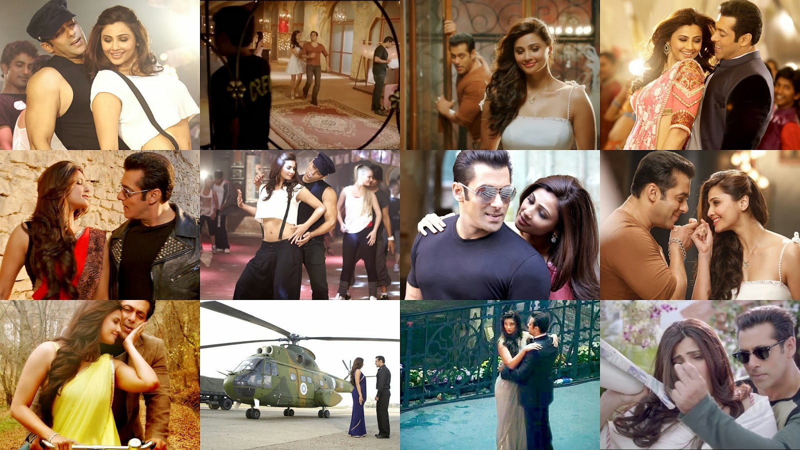 Salman Khan and Daisy Shah romance in Jai Ho movie