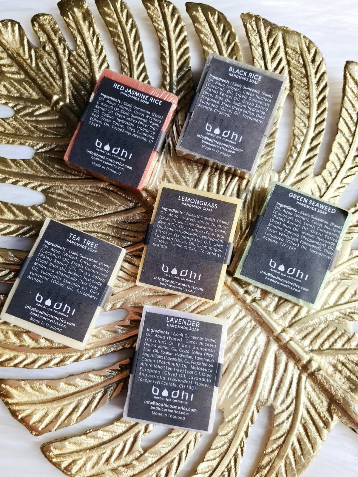 bodhi cosmetics soap set