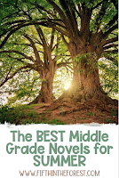Image for The Best Middle Grade Novels to Read in the SUMMER