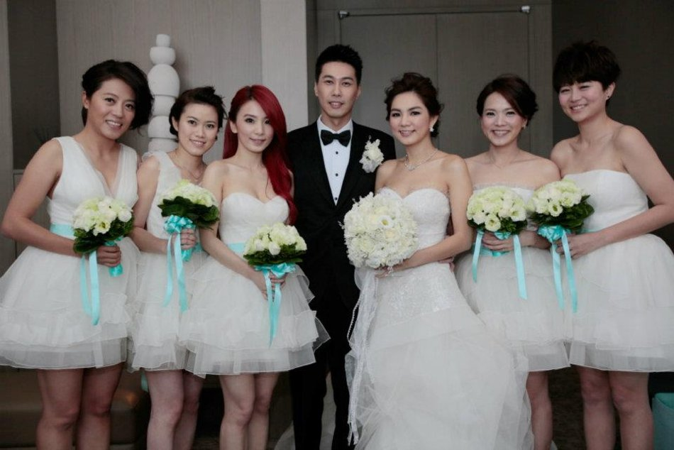 Jerry Yan And Barbie Hsu Wedding 1