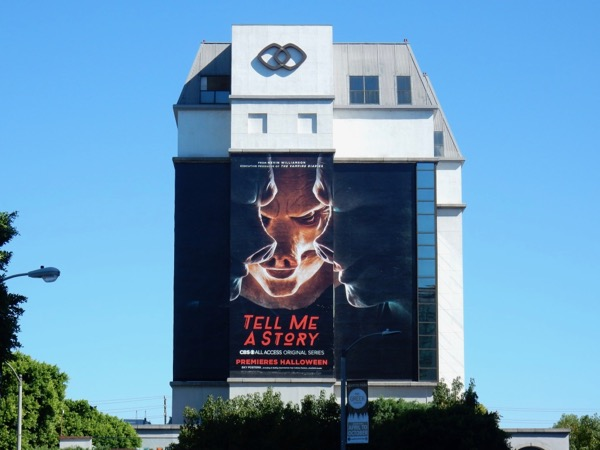 Giant Tell Me A Story series premiere billboard