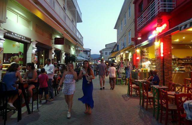Greek Islands: An Evening in Lefkada Town and Dinner at Taverna Kato Vrisi