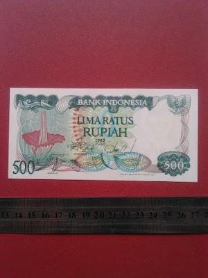 500 rupiah tahun 1982
