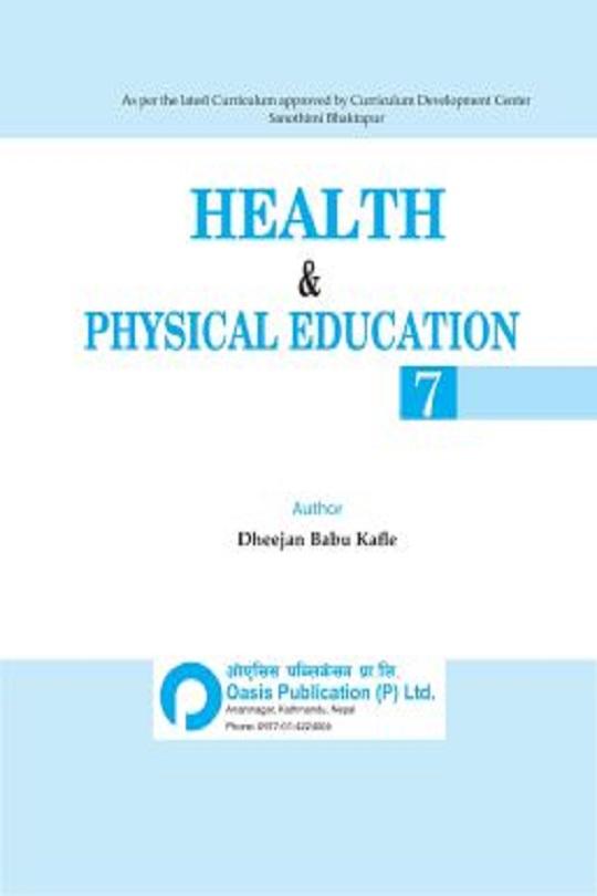 HPE Book Class 7 English Medium - Oasis Publication