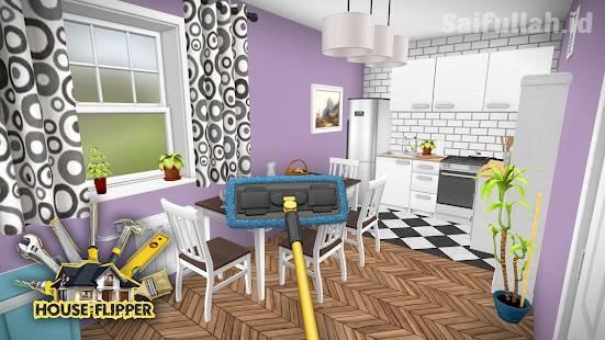 House Flipper Mod Apk V0 987 Pro Unlimited Money Home Design Renovation Games Saifullah Id