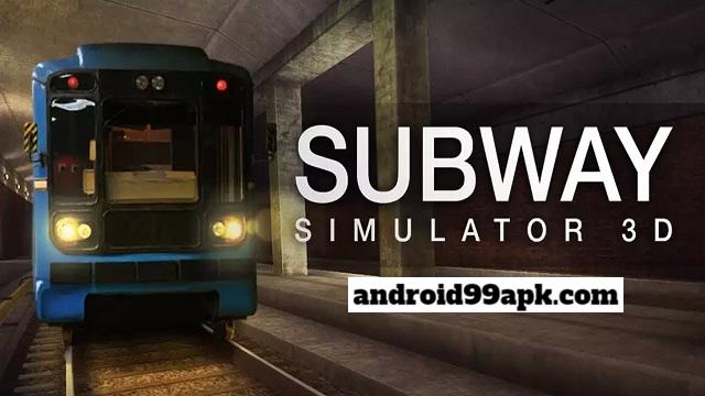 لعبة القطار السريع Subway Simulator 3D v2.20.2 مهكرة بحجم 75 MB للاندرويد