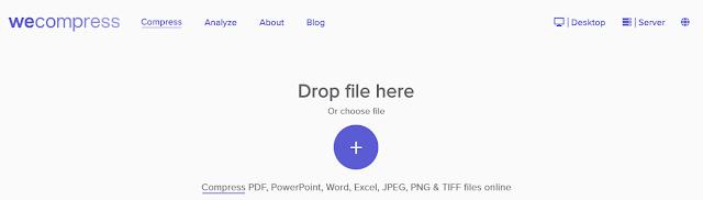 Wecompress Free Online Convert dan Kompres PDF