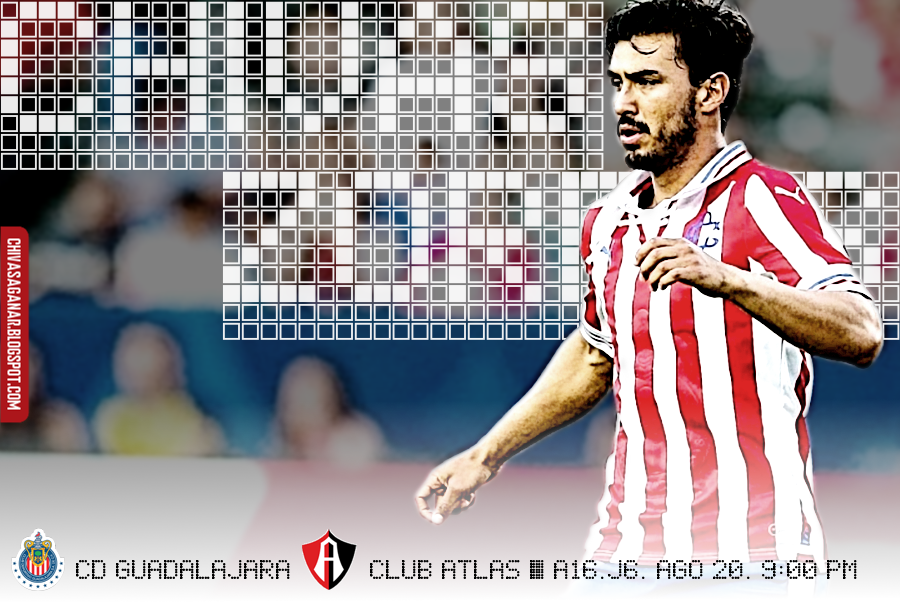 Liga MX : CD Guadalajara vs Club atlas - Apertura 2016 - Jornada 6.