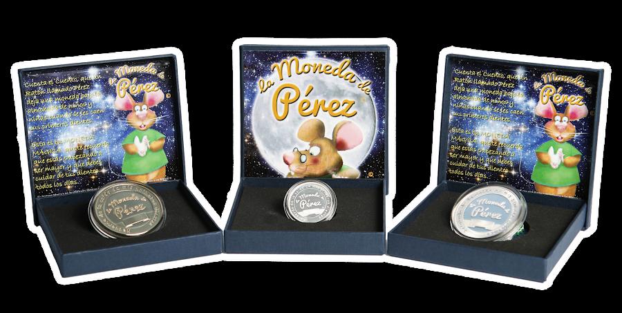 Ratoncito Pérez, la moneda de Pérez