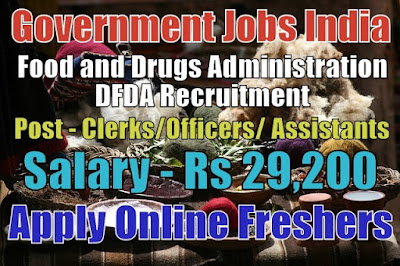DFDA Recruitment 2019