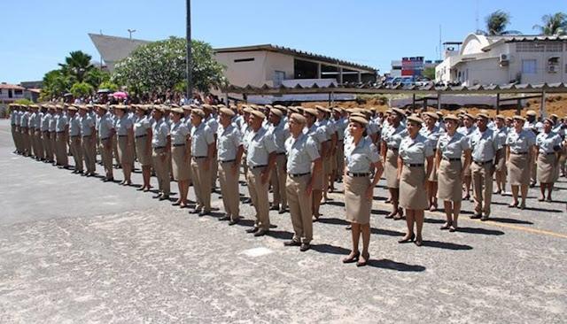 Suspenso concurso da PM e Bombeiros na Bahia
