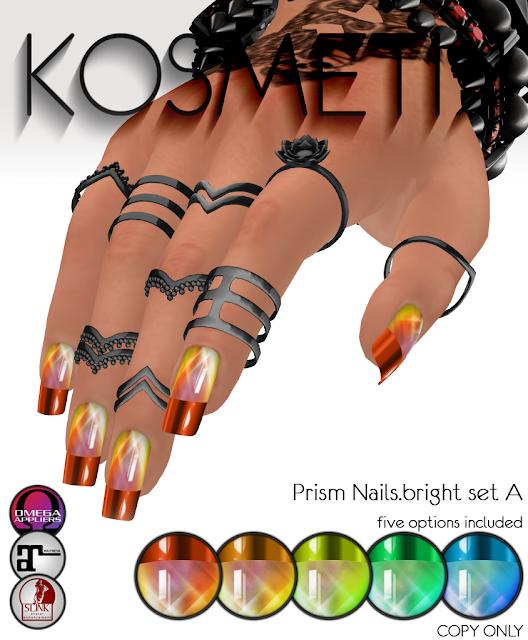 ,kosmetik Prism Nails