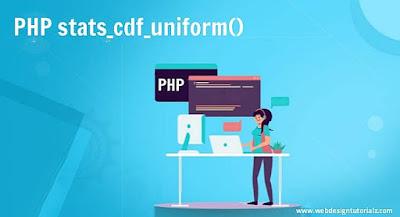 PHP stats_cdf_uniform() Function