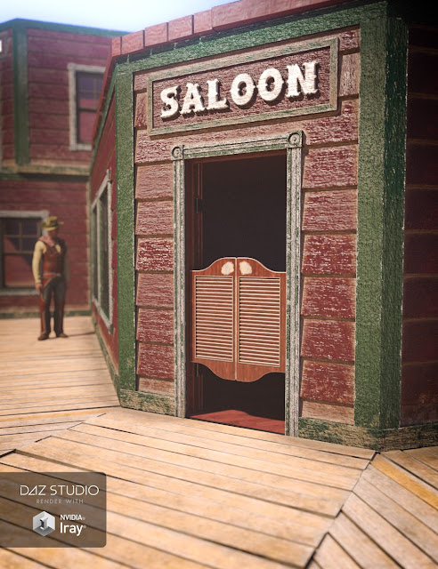 Collective3d Portrait Vignettes Old West 2