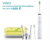 Vinci gratis Spazzolino Soni Care DiamondClean ( valore 200 euro)