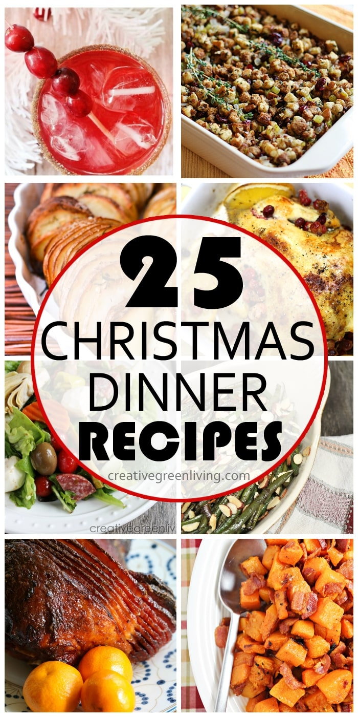#creativegreenliving #Christmasdinnerideas
