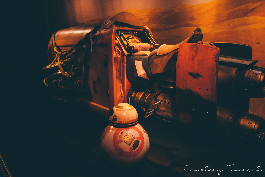 Courtney Tomesch Disneyland Star Wars BB8