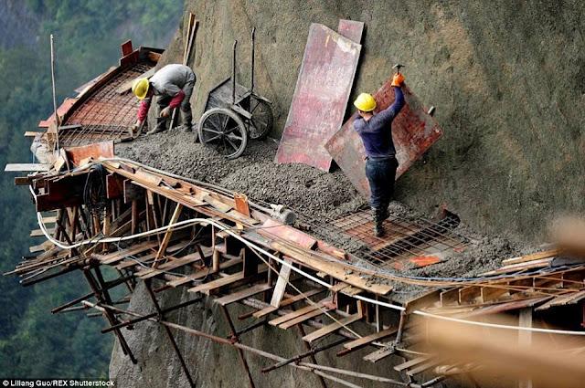 betonisasi jalan ekstrim