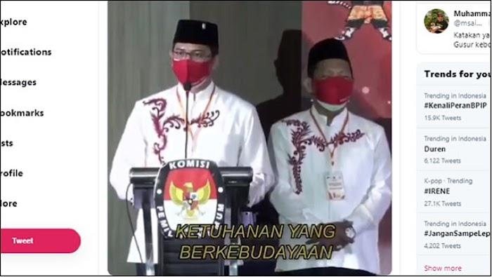 Viral! Said Didu Unggah Video Calon Walikota Pasuruan dari PDIP Ingin Ubah Pancasila