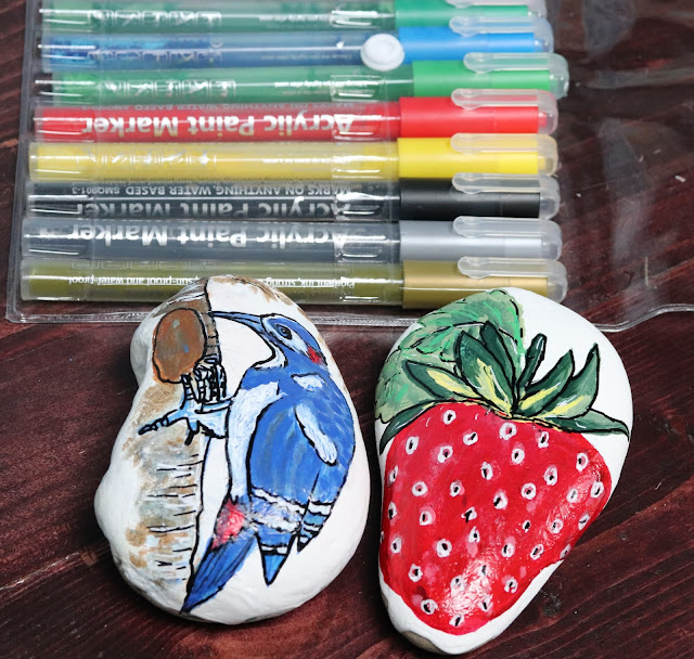 painting acrylic paint marker
