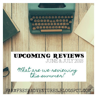 Upcoming Reviews for Summer 2018