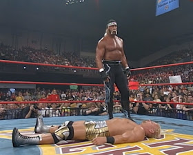 WCW Bash at the Beach - Jeff Jarrett lay down for Hulk Hogan in the infamous worked shoot