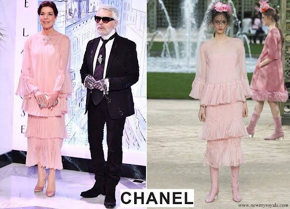 Princess Caroline wore Chanel gown from Spring 2018 Couture Collection