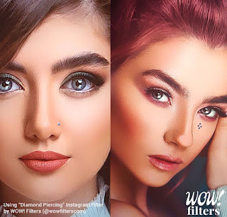 TikTok: What Is Nose Piercing Filter On Instagram, How To Get - Step By Step