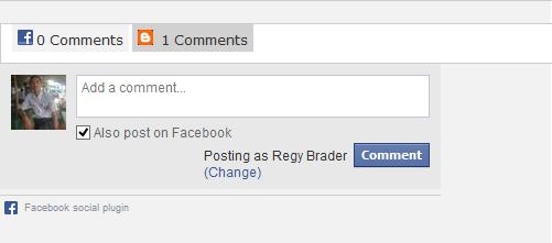Form Komentar Facebook Di Blog