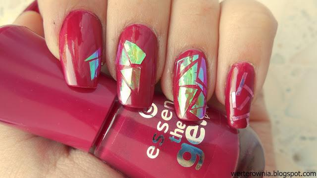 folia celofanowa w zdobieniu paznokci