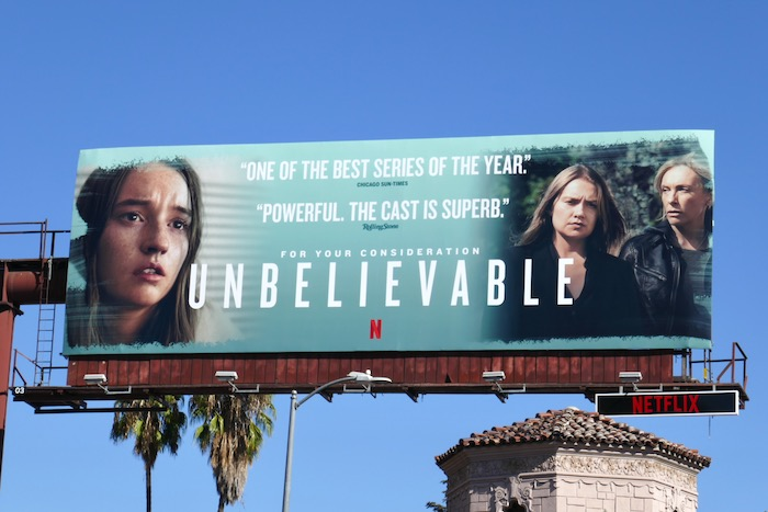 Unbelievable 2019 For your consideration billboard