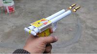 matchbox gun   Paper gun   माचिस और पेपर से गन बनाओ  