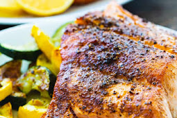 QUICK AND EASY AIR FRYER SALMON