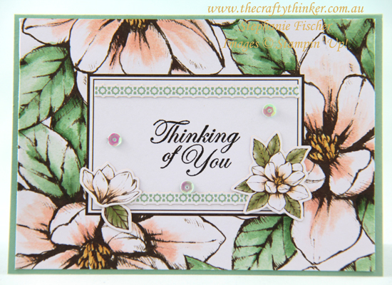 #thecraftythinker #stampinup #magnolialane #2019annualcatalogue #cardmaking , Magnolia Lane, 2019 annual Catalogue, Stampin' Up Australia Demonstrator, Stephanie Fischer, Sydney NSW
