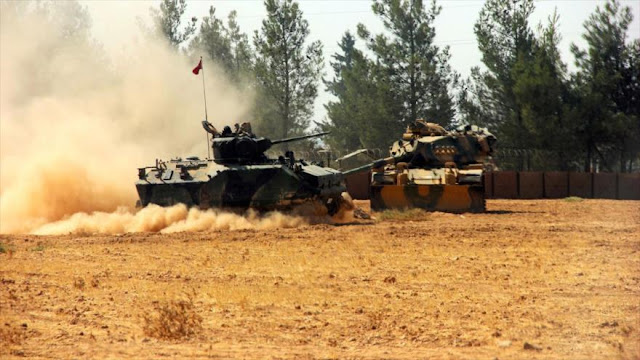 Turquía desafía a EEUU y bombardea a los kurdos en norte de Siria