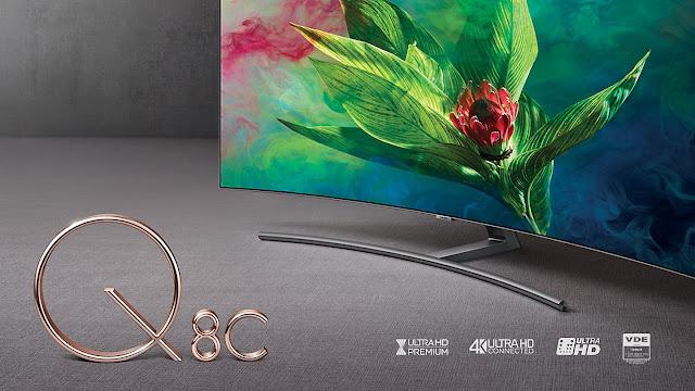 Smart Tivi QLED Samsung 4K 55 inch QA55Q8CNAKXXV