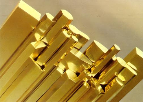 multiple brass rod sections
