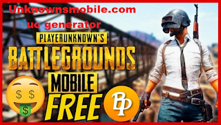 Unknownsmobile.com uc generator Dapatkan BP dan UC Pubg Mobile gratis
