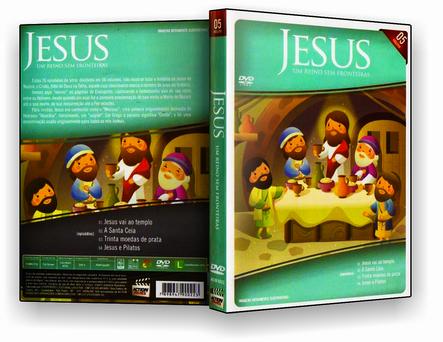 DVD Jesus Um Reino Sem Fronteira 05 - ISO
