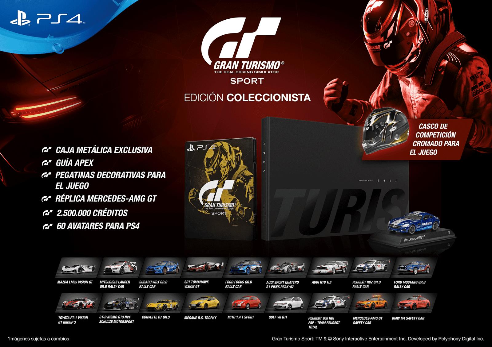 Gran Turismo Sport se lanzará el 18 de octubre en PS4