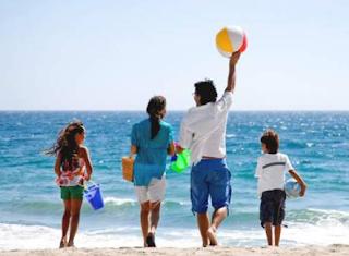 4 Trik Memilih Tempat Liburan Bersama Anak