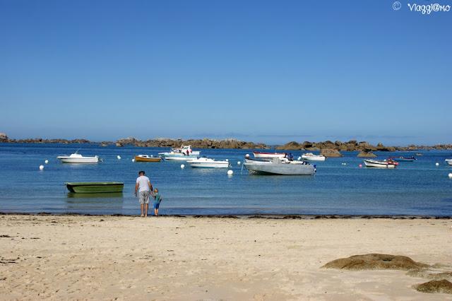 ViaggiamoHg sulla spiaggia di Meneham
