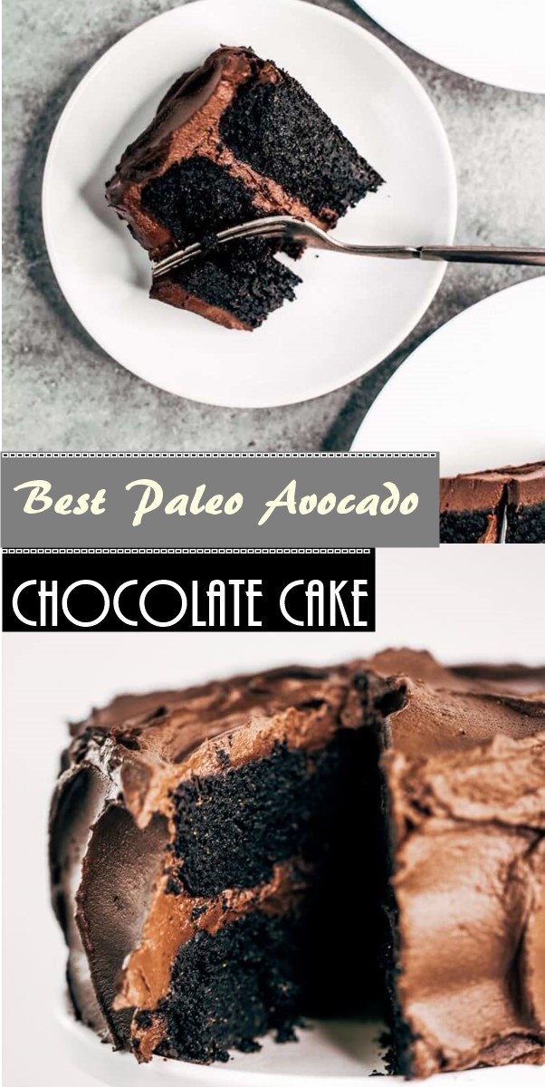 Best Paleo Avocado Chocolate Cake #Cakerecipes
