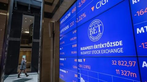 BÉT - A nemzetközi hangulattal összhangban estek a vezető részvények