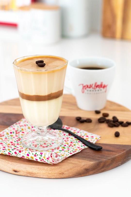 recette Panna cotta café, chocolat vanille