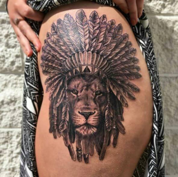 Native American Arrow Tattoo Designs