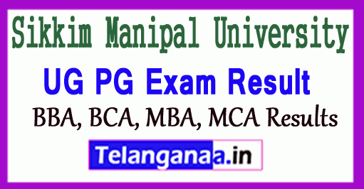Sikkim Manipal University Result