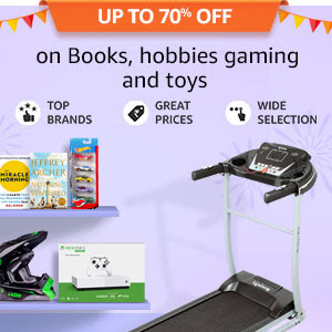 Up to 70% off on Books, hobbies, gaming and toys